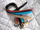 """1 NEW Maggie Sweet Silky Peachskin Belt, fits M/L 32-36"""" Choose Your Color"""