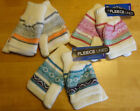 Women's Fingerless Gloves to Mittens NWT Knit Fairisle Pink Grey or Blue Glomitt