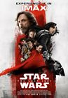 (1) New Star Wars The Last Jedi Final IMAX High Resolution Movie Poster Red Rey $13.99 USD