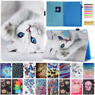 Smart Pattern Leather Wallet Stand Case Cover For Ipad 2 4 5th Gen/air/mini/pro