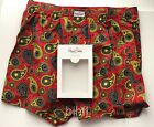 Happy Socks / Men's Boxer Briefs / Style - MUWWB-PAI / Red / Paisley / $20