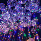30 LED String Lights Helium Balloon New Year Wedding Party Decoration 18inch