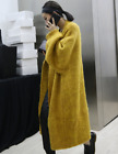 Womens Thicken Faux Fur Long Sweater Cardigans Outwear Loose Fashion Coat A731