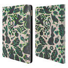 OFFICIAL MICKLYN LE FEUVRE ANIMALS LEATHER BOOK WALLET CASE COVER FOR APPLE iPAD