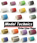 Trim Line Self Adhesive Coach Line Tape Stripe for Model Car Aircraft Plane