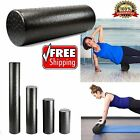 High Density Foam Roller Exercise Massage Yoga Back Pain Therapy 4 Sizes image