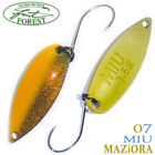 Assorted Colors FOREST MIU MAZIORA 3.5 g Trout Spoon