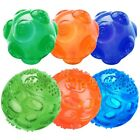 2pcs Puppy Pet Dog Tough Treat Training Chew Squeaky Giggle Ball Activity Toy