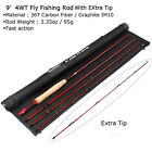 Fly Rod 3 4 5 8WT Fast Action 36T Carbon Fiber /Graphite IM10 Fly Fishing Rod