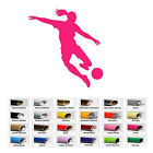 Girl Soccer Sports decal sticker for home window wall door decor car laptop cup