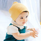 2-6 Months Baby Kid Knitted Beanie Caps Newborn Boy Girl Crocheted Hats Headwear