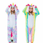Rainbow Star Unicorn Sleepwear Kigurumi Pajamas Animal Cosplay Costume 3