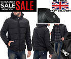 EA7 COAT EMPORIO ARMANI MENS PUFFER BLACK QUILTED DOWN JACKET / WINTER COAT NEW