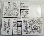 Stampin Up Complete Christmas Winter Sets choose 1 or more! Santa Snowman Tags