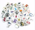NFL Football Sports Team Pendant Dangle Charms Clasp Necklace Bracelet lot $10.0 USD on eBay
