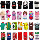 New 3D Animal Cartoon Hot Cute Silicone Phone Case Cover For iPhone X 6 7 8 Plus $6.62  on eBay