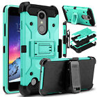 For LG Rebel 4 LTE/Phoenix 4/Tribute Dynasty/Aristo 2 Plus Stand Clip Armor Case