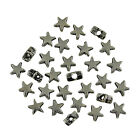 10 50 100 200 500 1000 Tibetan Silver Metal Star Spacer Beads 5mm