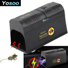 Electronic Mouse Rodent Zapper Trap Control Rat Killer Pest Yard Gardern