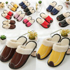 Women Men House Indoor Slippers Home Warm Cotton Shoes Sandals Soft Anti-Slip