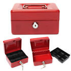 Внешний вид - Stainless Steel Tiered Cash Money Box Lock Locking Bank Safe Key Security Tray