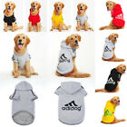 Dog Sweater Casual Clothes Coat Dogs Warm Hoodie 3-9XL Adidog Sweatshirt Apparel