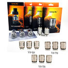 3 / 5 Pcs Authentic SMOK TFV8 Baby Coils V8-Q2/M2/X4/T8 for TFV8 Baby Beast Tank