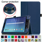 For Samsung Galaxy Tab E 8.0 Case Slim Fit Premium PU Leather Folio Stand Cover