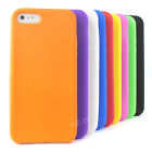 For Apple iPhone 5S 5 Rubber Silicone Soft Jelly Gel Skin Phone Case Cover