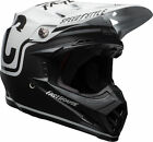 Bell Adult Black White Moto 9 MIPS Fasthouse Dirt Bike Helmet Snell DOT ECE