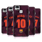 OFFICIAL FC BARCELONA 2017/18 PLAYERS THIRD KIT 1 CASE FOR ASUS ZENFONE PHONES