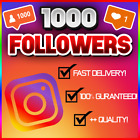 1K - 25K Instagram Follow (FAST/QUICK AND RELIABLE!) 100% GUARANTEED