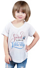 "Girl's ""Sweet Land of Liberty"" V-Neck Tee - Grey"