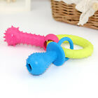 Pet Rubber Dental Cleaning Teeth Healthy Dog Puppy Chew Training Play Fun Toy