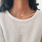 necklace double layer heart chain hot multilayer choker pendant  gold silver UK <br/> Top Quality! Free Bag! 2 separate pieces ! Best price!