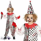 Childs Killer Zombie Evil Circus Clown Freak Show Halloween Fancy Dress Costume