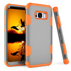 Hybrid Rugged Shockproof Rubber Armor Case Cover For Samsung Galaxy S8 / S8 Plus