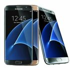 Samsung Galaxy S7 EDGE (Verizon / Straight Talk / Unlocked ATT GSM) Gold Black photo