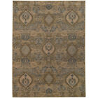Ivory Traditional-Persian/Oriental Teardrop Diamond Area Rug All-Over 4925W