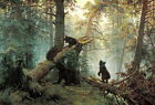 Ivan Shishkin Morning In A Pine Forest Giclee Fine Art Canvas Print