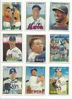 2016 TOPPS HERITAGE #'S 250-500 - STARS, RC'S, HIGH # SHORT PRINTS - U PICK!!