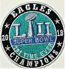 Philadelphia Eagles Superbowl LII (52) Embroidered Patch-Free Shipping US