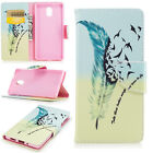 For Nokia 3310/2 3 5 6 8 Flip Painted Leather Case Magnetic Stand Wallet Cover