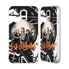 OFFICIAL DEF LEPPARD PHOTOS SILVER BUMPER SLIDER CASE FOR SAMSUNG PHONES