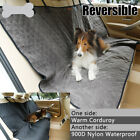 REVERSIBLE PET CAR SEAT COVER - CORDUROY ONE SIDE AND WATERPROOF NYLON ON OTHER