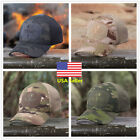 Multicam Camo Outdoor Tactical Cap Military Hunting Hiking Baseball Hat 4 Colors