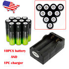 Rechargeable 30000 LUMENS T6 LED Headlamp Flashllight +Charger+18650 USA