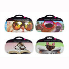 NOVELTY DESIGN GLASSES CASE  WITH COOL CUTE PETS PRINT