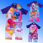 New Girls Sun UV Protection Sunsafe Sunsuit Swimsuit Age 18 Months - 5 Years 18