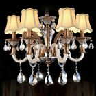 Modern Romantic Droplight Wall Lamp Candle Chimney Chandelier Lampshade 6pcs Set